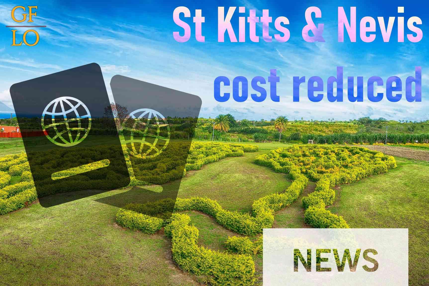 Минимальная сумма инвестиций для получения гражданства на Сент-Китс и Невисе теперь на US$45.000 меньше