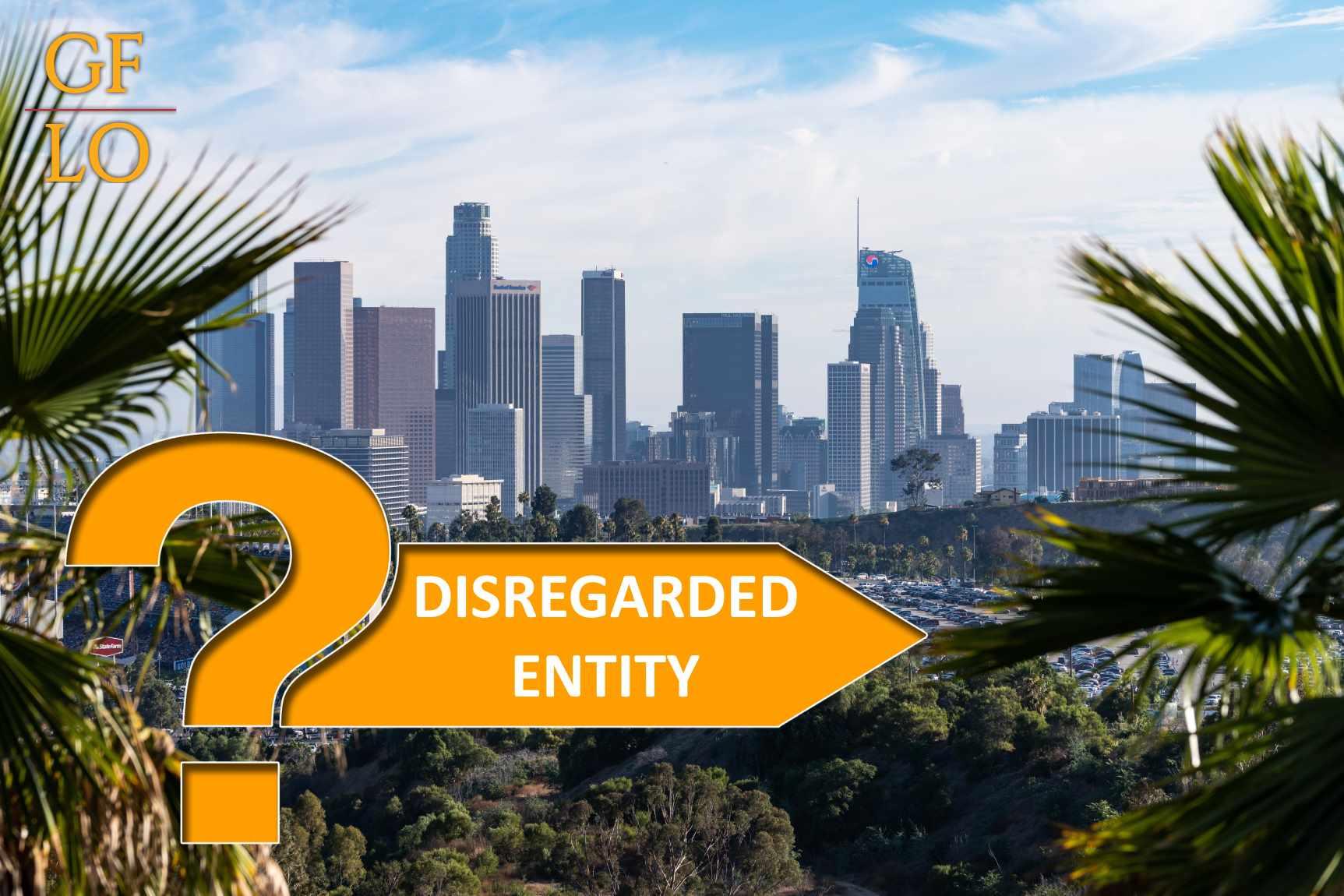 Что такое Disregarded entity в США?
