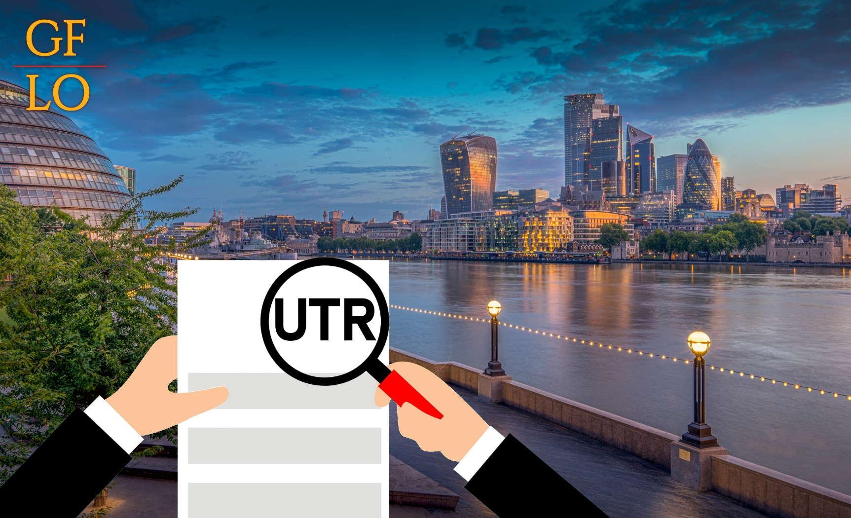 Что такое номер UTR в Великобритании?